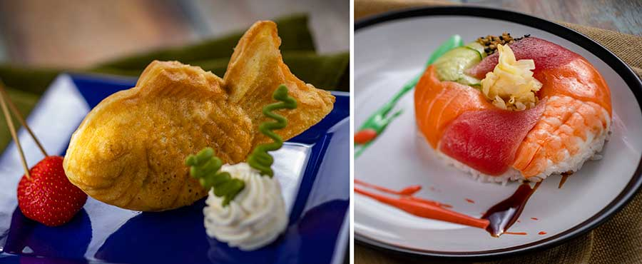 Offerings from Goshiki for the 2020 Epcot International Festival of the Arts