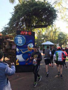 Halfway through the 2017 WDW Marathon course brought me to Disney's Animal Kingdom.