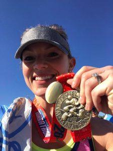 I earned my 26.2 Full WDW Marathon medal!