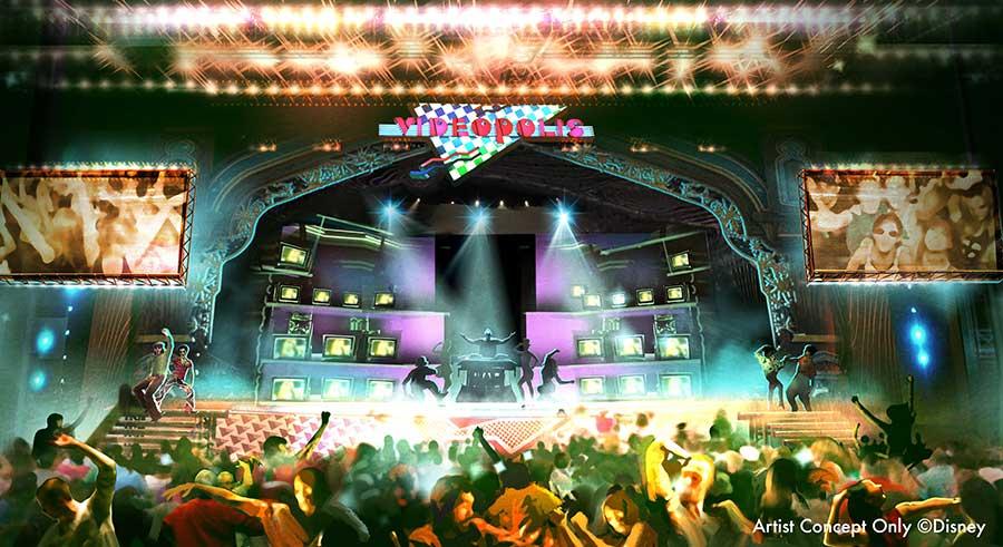 Videopolis—Disneyland's classic music video dance party