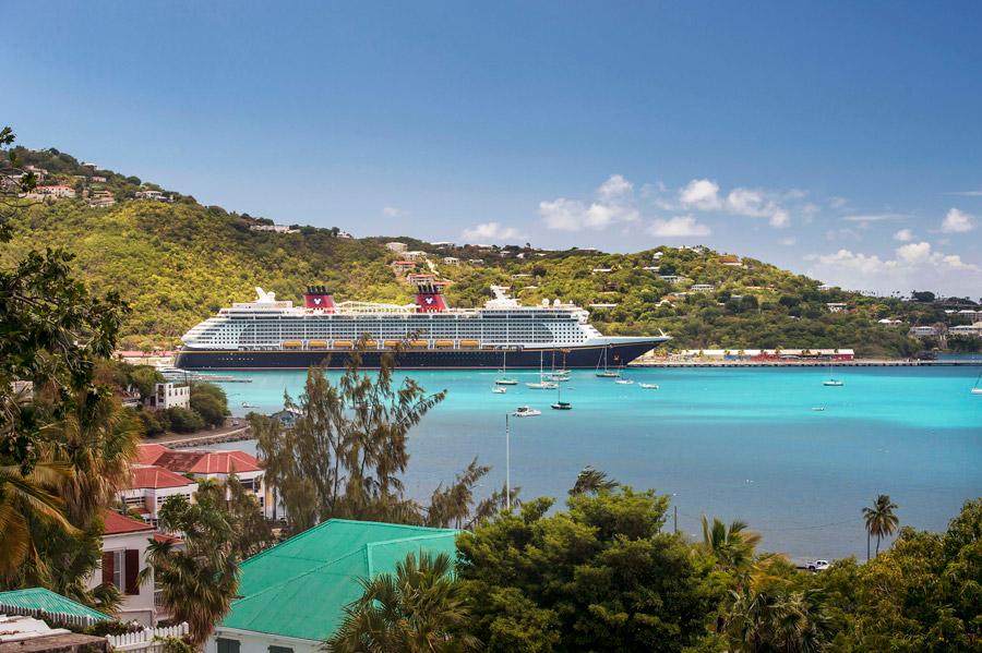 Disney Cruise Line visits the beautiful and vibrant island of Tortola