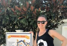 Working Out In Disney World on the Running Trail at Disney's Yacht and Beach Club Resort