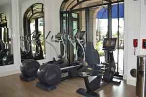 Equipment at Athletique Fitness Center at Disney's Riviera Resort