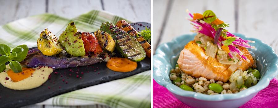 Offerings from the Flavor Full Kitchen for the 2020 Epcot International Flower & Garden Festival