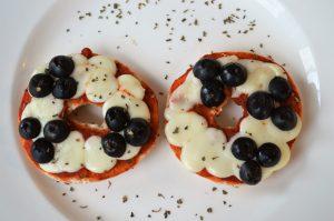 Mickey Pizzas from Disney Kids Snacks
