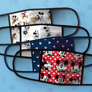 Wear a face mask in Disney like these from ShopDisney.com