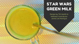 Star Wars Galaxy's Edge Green Milk Recipe