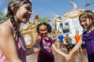 Casey Jr Splash 'N' Soak Station to beat the summer heat in Disney parks