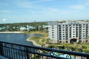 Roof top Views from Topolino's Terrace at Disney's Riviera Resort