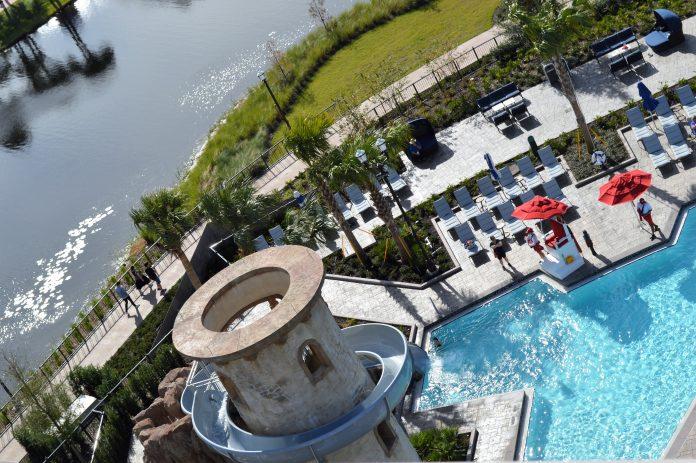 Safety is enhanced at swimming pools at Disney resorts