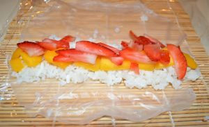 Mango Rice Wrap Frushi