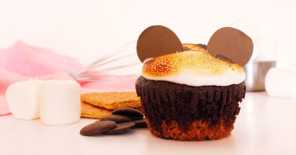 Mickey S'mores Cupcakes