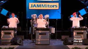 JAMMitors performing during the Virtual Taste Of Epcot® International Food and Wine Festival