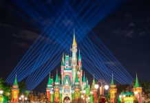 Magic Kingdom Cinderella's Castle- Ryan Ranahan Kingdom Media Copyright