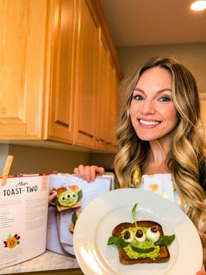 Disney Eats Cookbook Recipe Alien Toast for Two