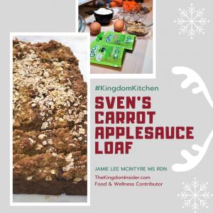 Svens Carrot Applesauce Loaf