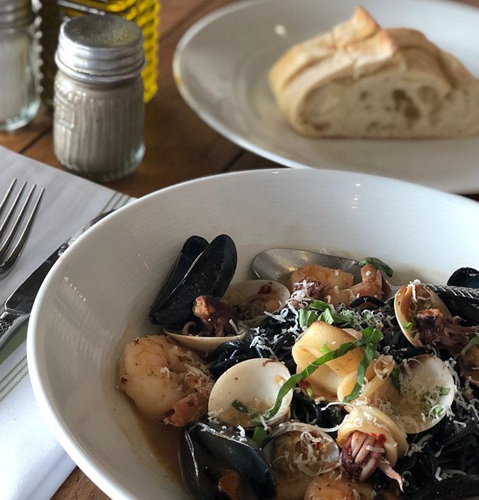 VIVO Italian Kitchen Squid Ink Seafood