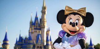 Minnie Mouse Disney World 50th anniversary
