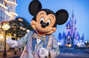 Mickey Mouse Disney World 50th anniversary
