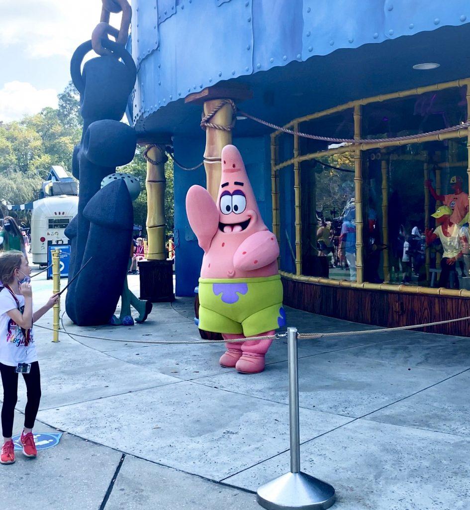Universal Orlando Resort Character sightings 2021