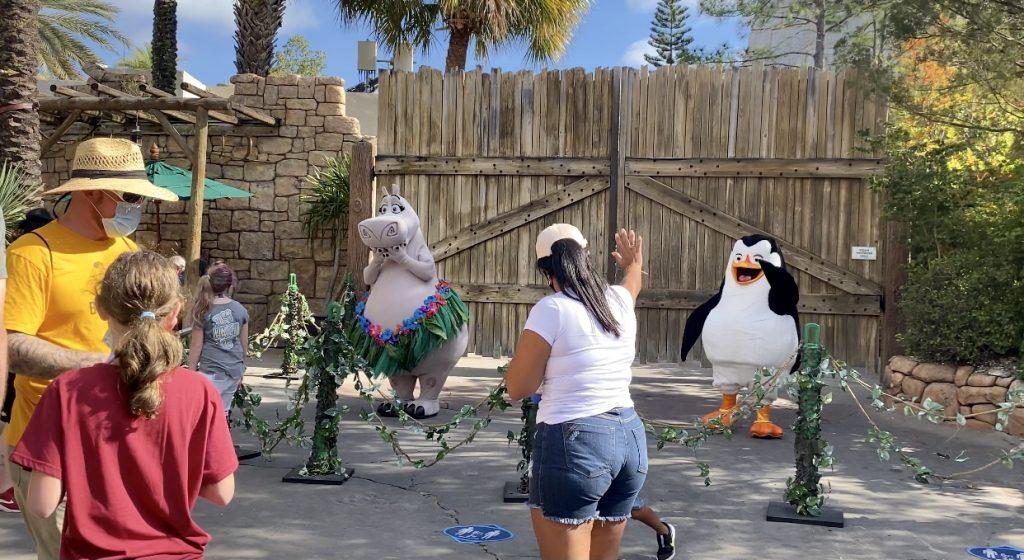 Universal Orlando Resort Madagascar Character sightings 2021