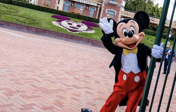 Disneyland soft reopening April 2021