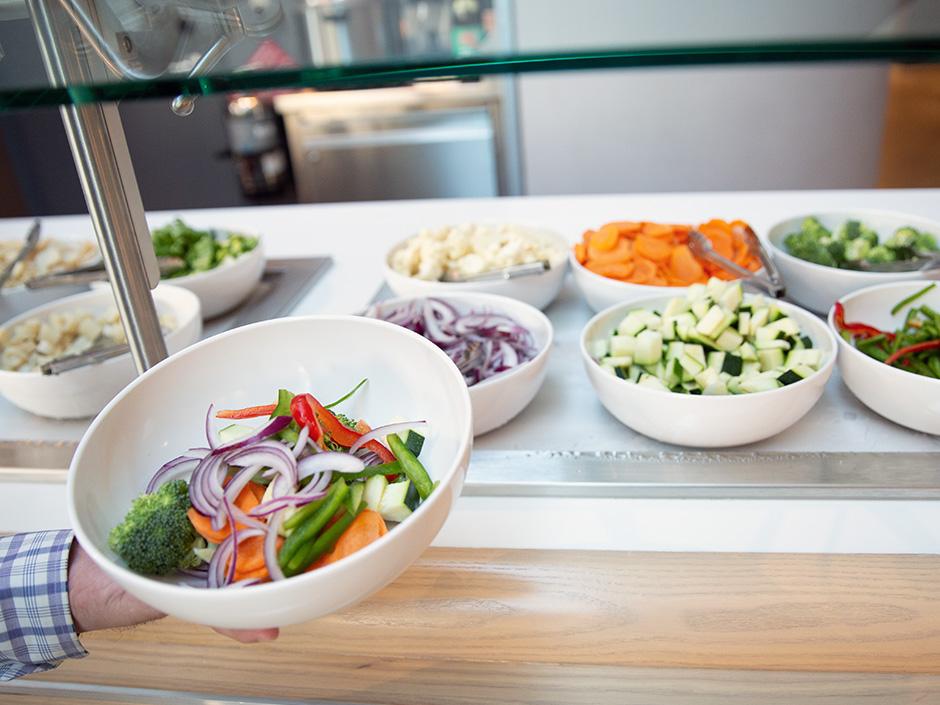 Salad Bar from Universal's Aventura Hotel