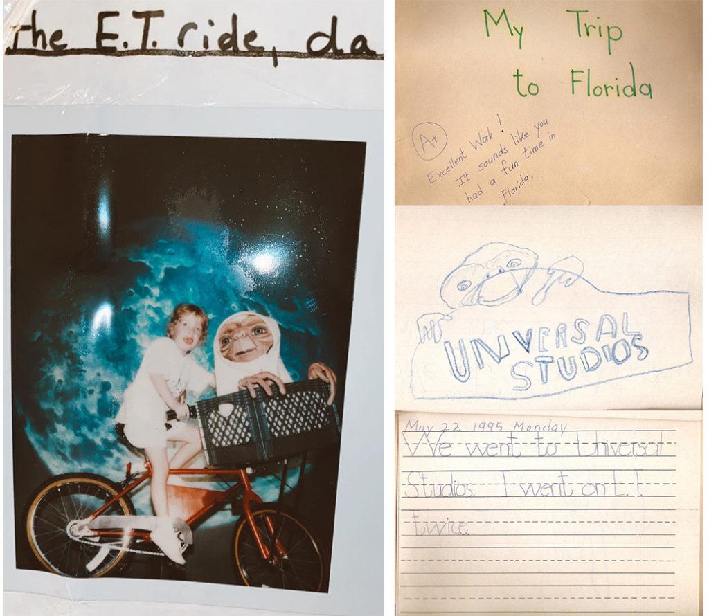 Jamie's School Projects - E.T. Adventure