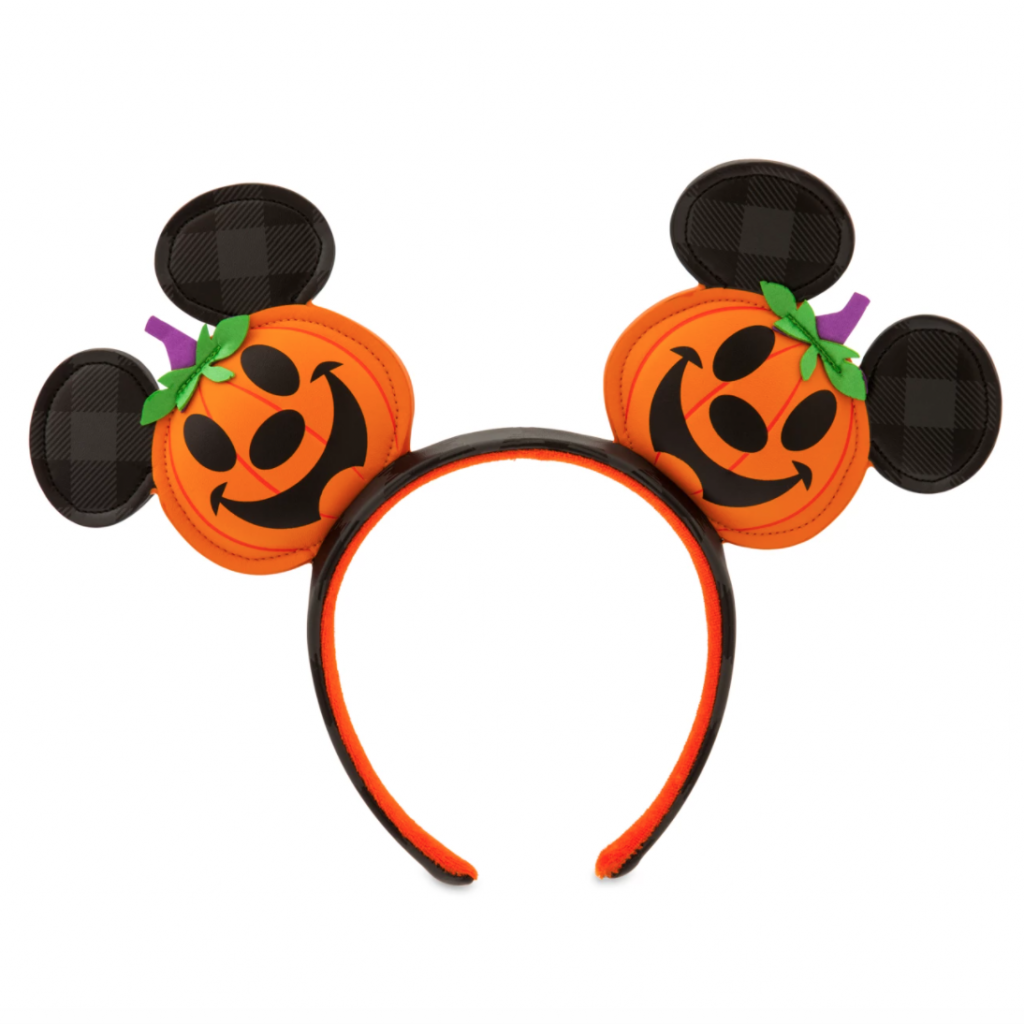 Mickey Mouse Jack-o'-Lantern Ear Headband