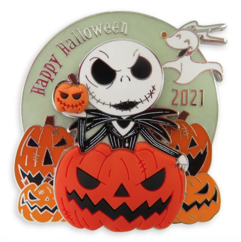 Jack Skellington and Zero Pin: Halloween 2021 Limited Release